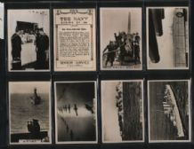 Tobacco photo cigarette cards set The Navy 1937